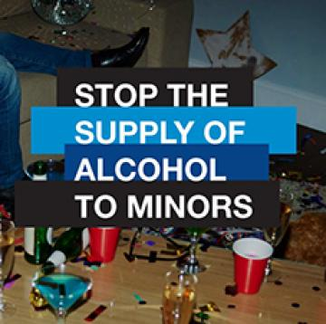 Stop the supply of alcohol to minors